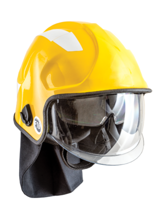 Pacific Helmets F10 MkV Structural Firefighting Helmet