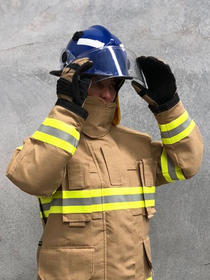 Pacific Helmets F3D MkII Structural Firefighting Helmet