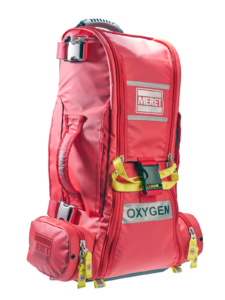 Meret RECOVER PRO Medical Bag - Red Infection Control