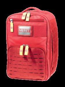Meret V.E.R.S.A. PRO Medical Bag - Red Infection Control