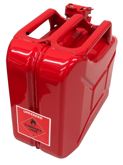 Jerry Can - Unleaded - Red