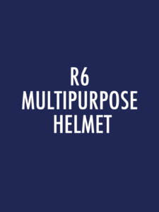 R6 Series Multipurpose Helmets Spare Parts