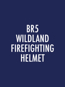 BR5 Series Wildland Firefighting Helmets Spare Parts