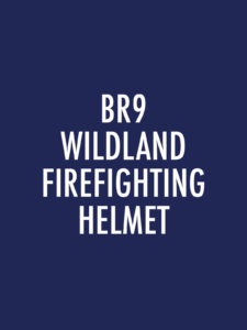 BR9 Series Wildland Firefighting Helmets Spare Parts