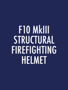 F10 MkIII Structural Firefighting Spare Parts