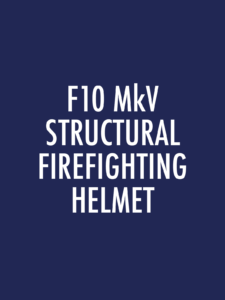F10 MkV Structural Firefighting Spare Parts