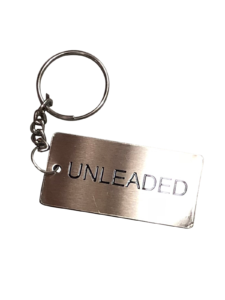Metal Jerry Can ID Tag - Unleaded