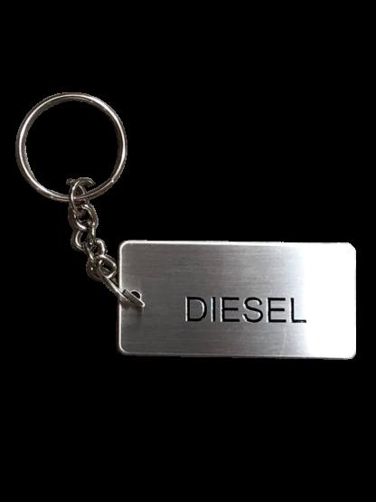 Metal Jerry Can ID Tag - Diesel