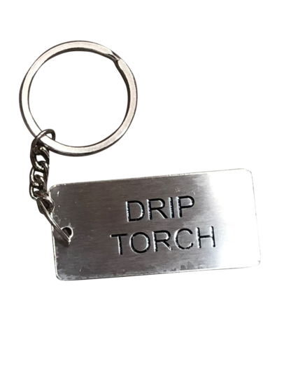 Metal Jerry Can ID Tag - Drip Torch